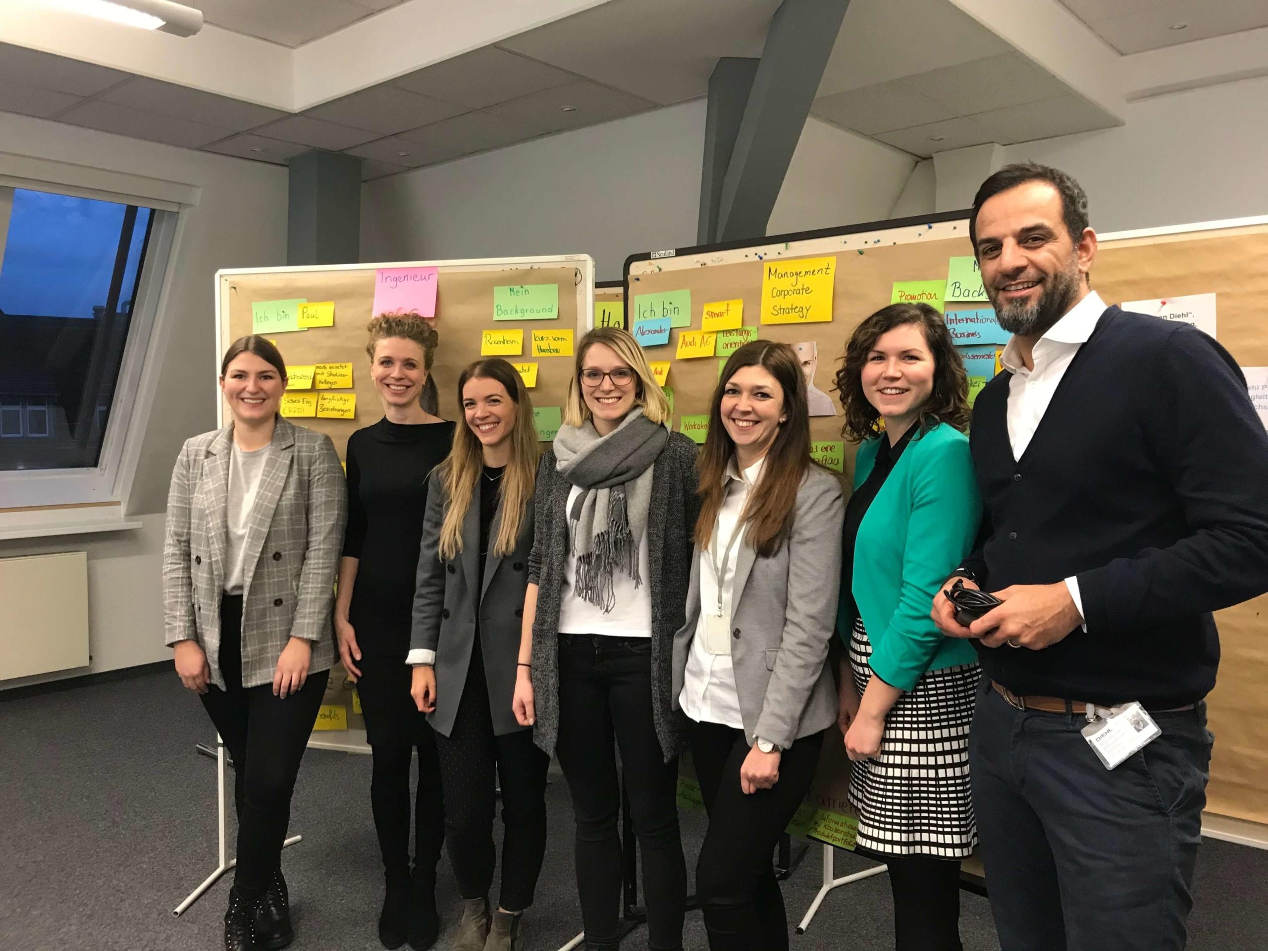 Active Sourcing Beratung bei der Diehl Group