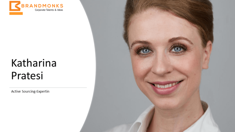 Active Sourcing Expertin Katharina Pratesi