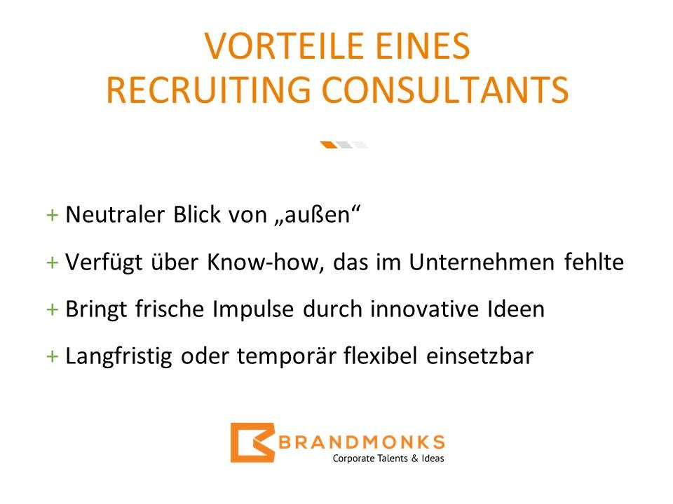 Vorteile des Recruiting Consultings