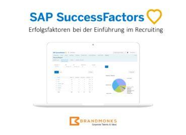 Erfolgsfaktoren bei der SAP SuccessFactors Einführung