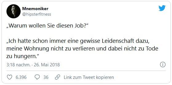 Warum möchten Sie diesen Job?